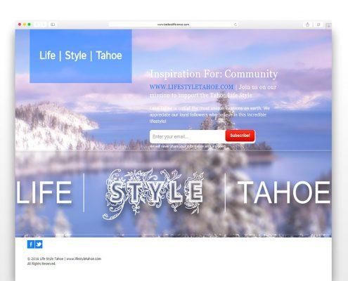 Life Style Tahoe | SG Designs | Tahoe Web Design