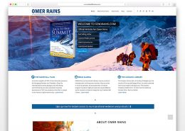 Senorains Omer Rains | SG Designs | Tahoe Web Design