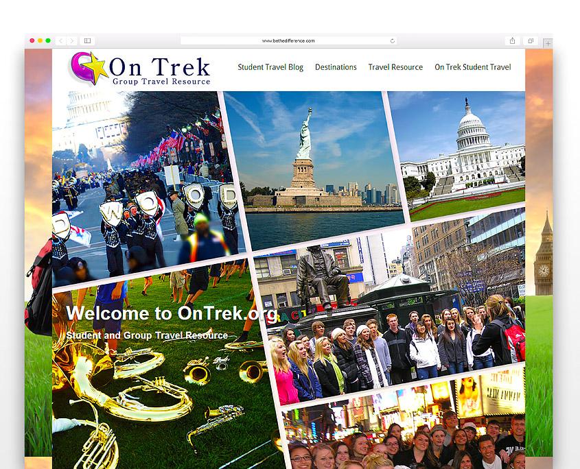 OnTrek.org | SG Designs | Tahoe Web Design
