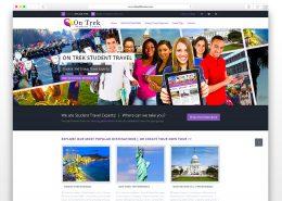 On Trek Student Travel| SG Designs | Tahoe Web Design