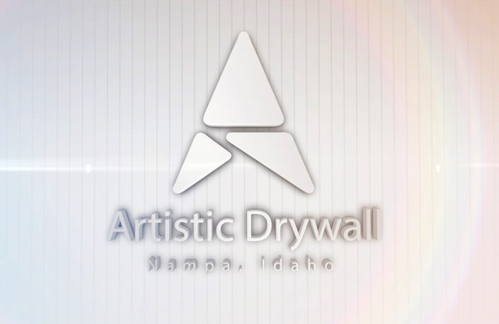 Artistic Drywall Logo Reveal