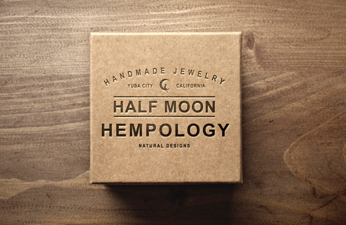 Half Moon Hempology Box Design