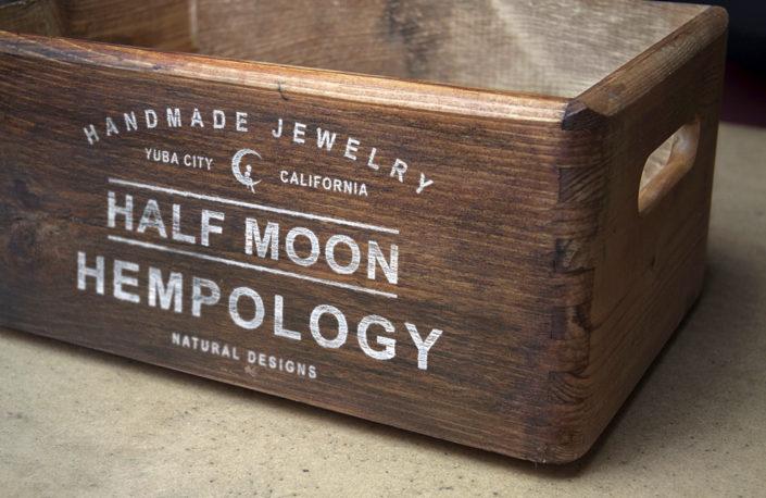 Half Moon Hempology Crate Design